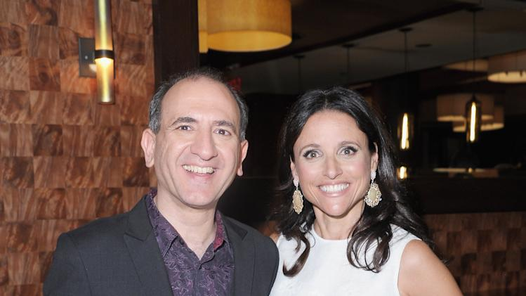 Armando Ianucci and Julia-Louis Dreyfus