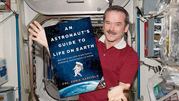 Astronaut Chris Hadfield Launching Book Tour for 'Guide to Life on Earth'