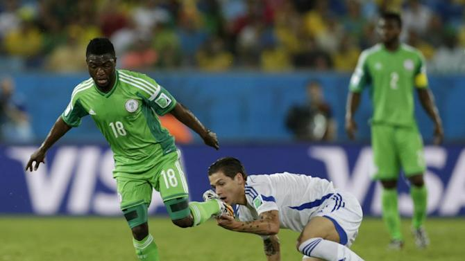 Nigeria's Babatunde out of World Cup