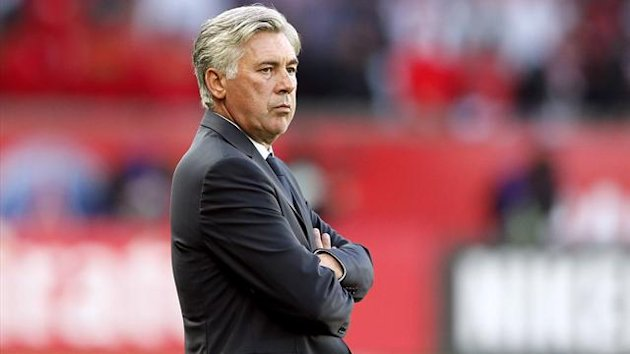 FOOTBALL 2012 PSG - Ancelotti