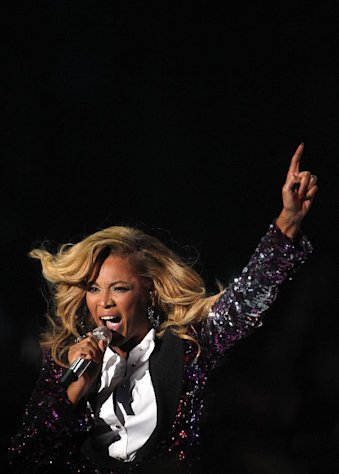 FILE - In this Aug. 28, 2011 file photo, Beyonce performs at the MTV Video Music Awards, in Los Angeles. Kelly Clarkson and fun. are just two of the acts who will perform during the upcoming inaugural festivities, which also includes Beyonce, James Taylor, Stevie Wonder, Katy Perry and dozens of others. (AP Photo/Matt Sayles, File)
