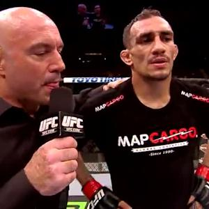 UFC 177: Danny Castillo and Tony Ferguson Octagon Interviews
