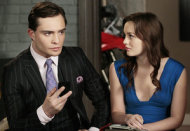 Ed Westwick and Leighton Meester | Photo Credits: Giovanni Rufino/The CW