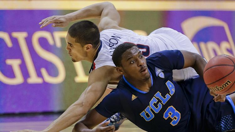 college basketball tournament, Saturday, March 15, 2014, in Las Vegas