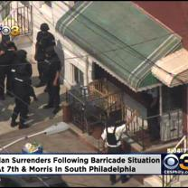 2 Officers Treated For Injuries After Barricade Situation In South Philly