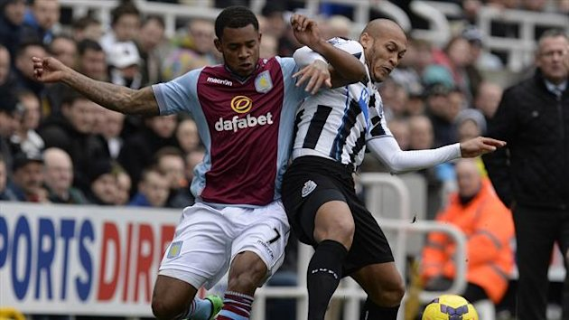 Newcastle vs Aston Villa 23 Feb 2014