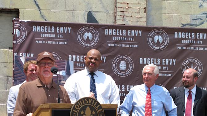 Maker of Angel's Envy bourbon to open distillery