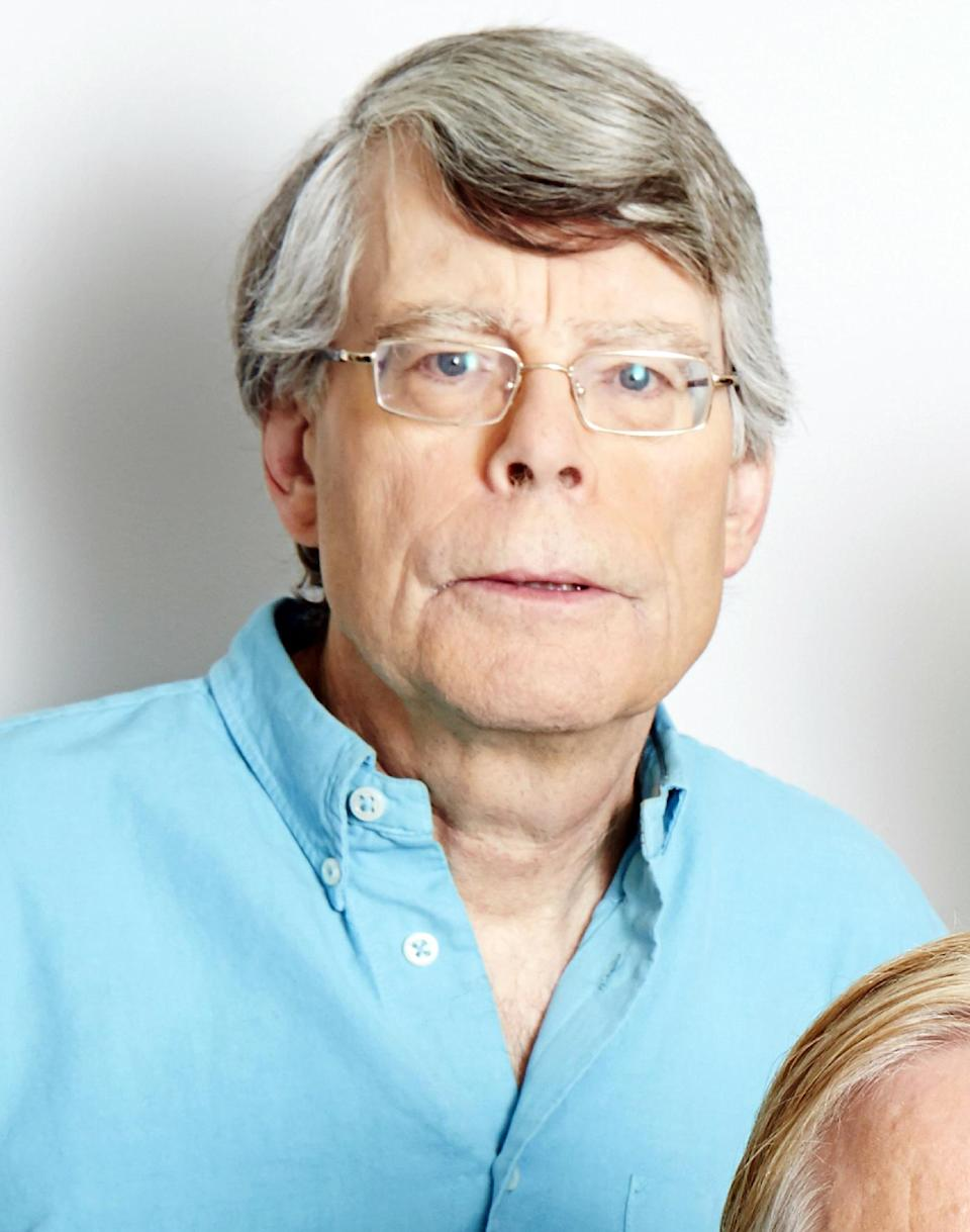 "This June 3, 2013 photo shows author Stephen King in New York. King's latest book, ""Doctor Sleep,"" was released on Tuesday, Sept. 24. (Photo by Dan Hallman/Invision/AP, File)"