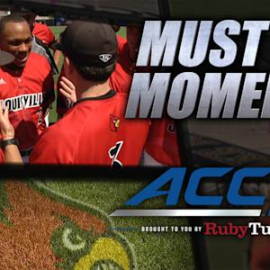 UL Coach McDonnell's Fiery Pregame Speech to Team | ACC Must See Moment