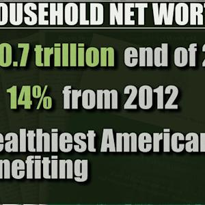 Headlines: Net worth of U.S. households rises to $80.7 trillion last year