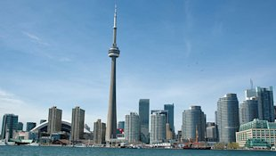 Toronto (pictured) and Buffalo could be co-hosts of the 2024 Olympics. (CBC)