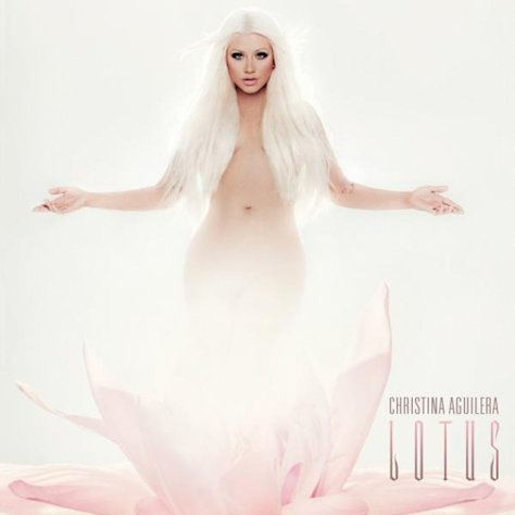Christina Aguilera's 'Lotus' album cover -- Universal