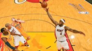 Mann des Spiels: Miamis LeBron James