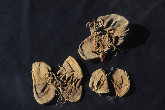 Lost and Found: Ancient Shoes Turn Up in Egypt Temple