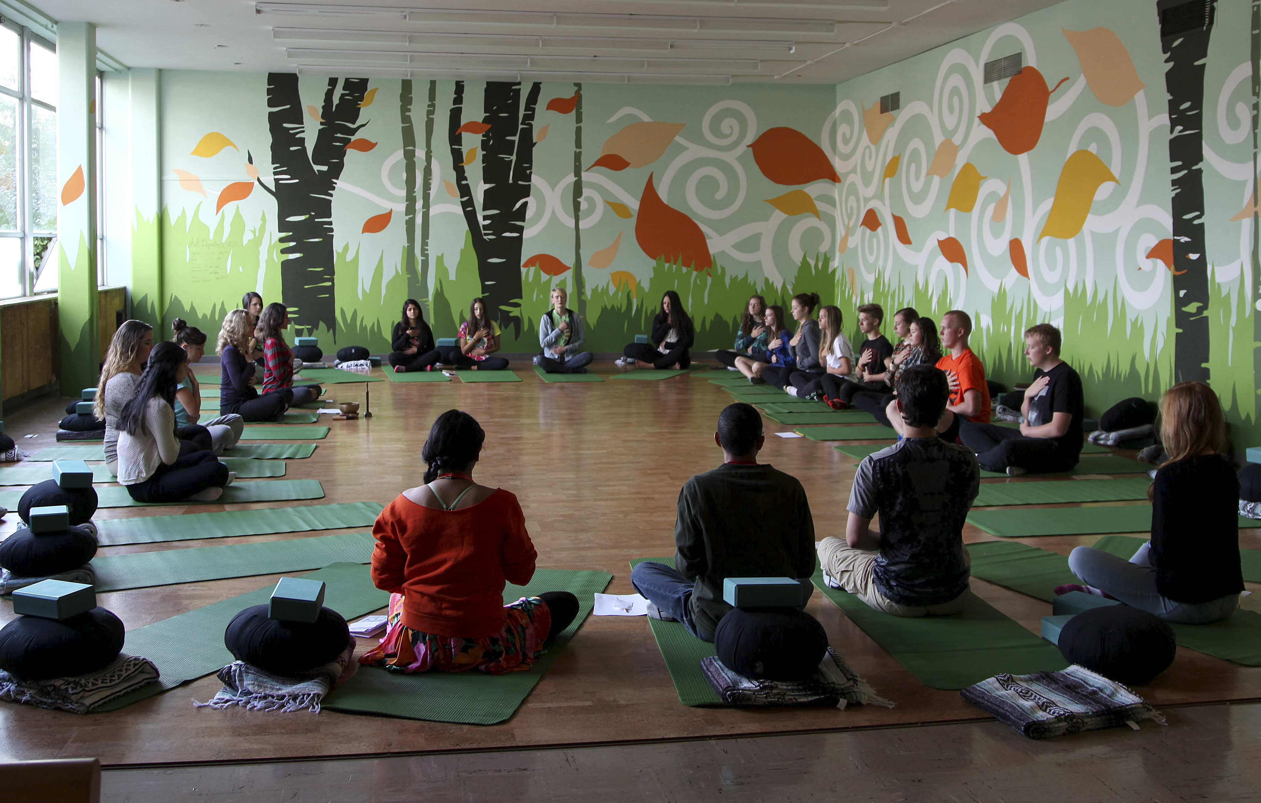 Mindfulness helps teens cope with stress, anxiety