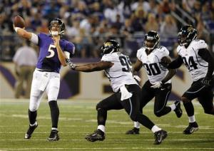 Ravens put on a show at Jaguars' expense