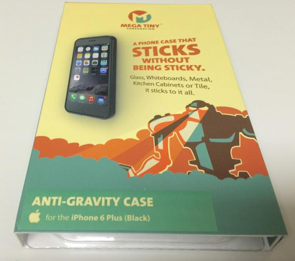 Stick your phone to the wall with Anti-Gravity Case for iPhone 6 Plus (hands-on)
