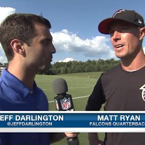 Atlanta Falcons quarterback Matt Ryan: I am happy to have WR duo back