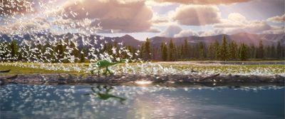 Review: The Good Dinosaur sets a frustratingly familiar story in a thrillingly familiar world