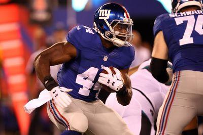 Andre Williams could handle goal-line duty for Giants, fantasy owners