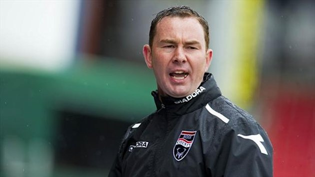 Derek Adams was furious with his side's defending against Partick