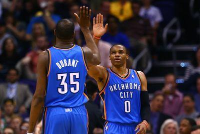 Kevin Durant, Russell Westbrook to return to Thunder practice Saturday