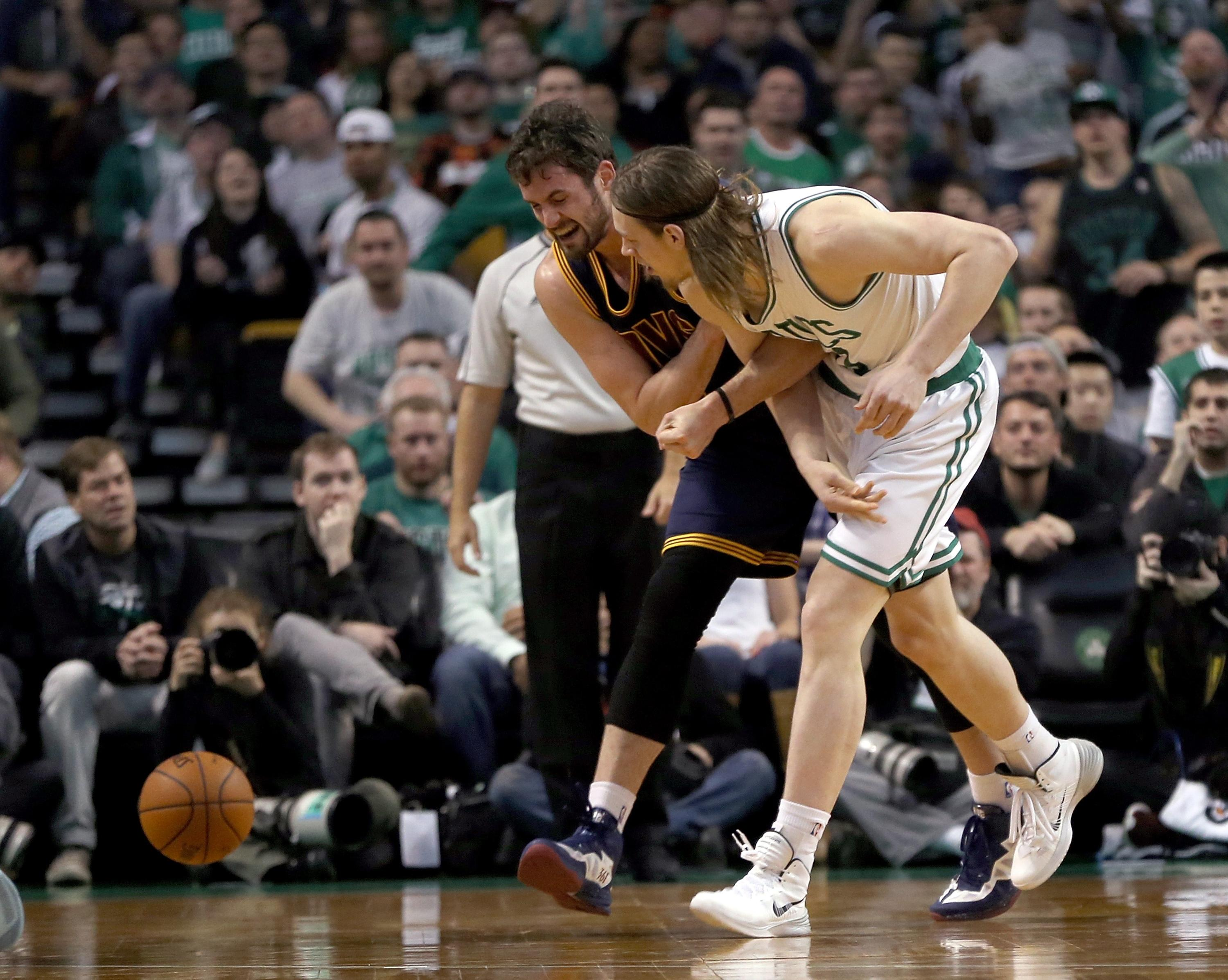 Love to miss Round 2, J.R. and Olynyk suspended in Cavs-Celtics aftermath