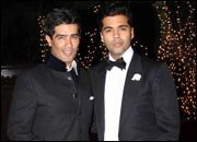 Bollywood stars at Karan Johar's grand birthday bash