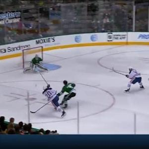 Kari Lehtonen Save on Luke Gazdic (02:33/2nd)