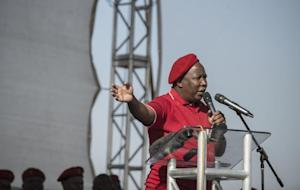 President of the Economic Freedom Fighters (EFF) party…