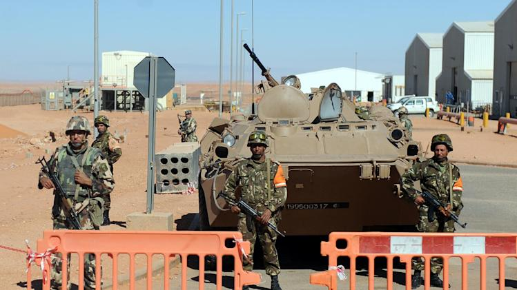 Algerian army to deploy around energy sites
