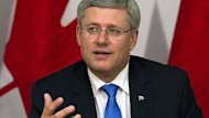 PM Harper in Brussels to conclude talks