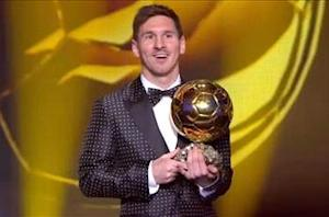 Shevchenko praises 'incredible' Ballon d'Or winner Messi