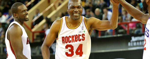Olajuwon, 52, gives us one more Dream Shake