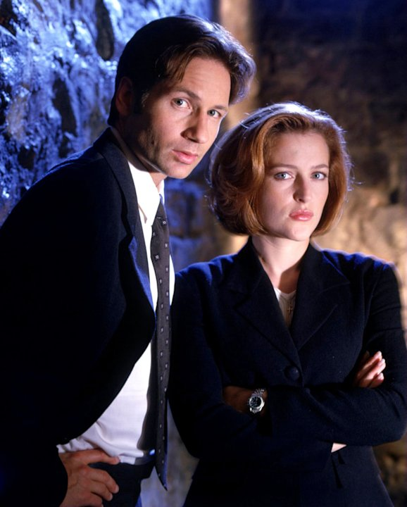 Dana Scully and Fox Mulder …