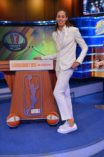 Griner No. 1 pick by Phoenix Mercury in WNBA Draft