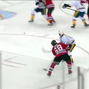 Jaromir Jagr scores early on Hutton