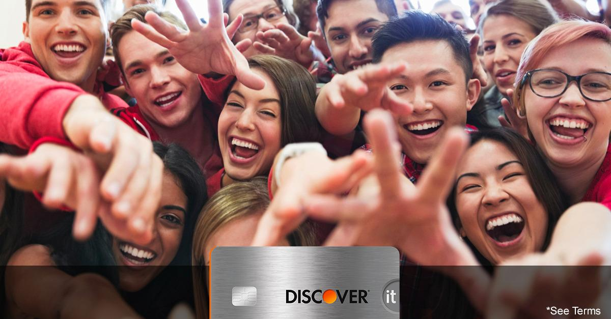 Student Card Benefits Are Piling Up at Discover®