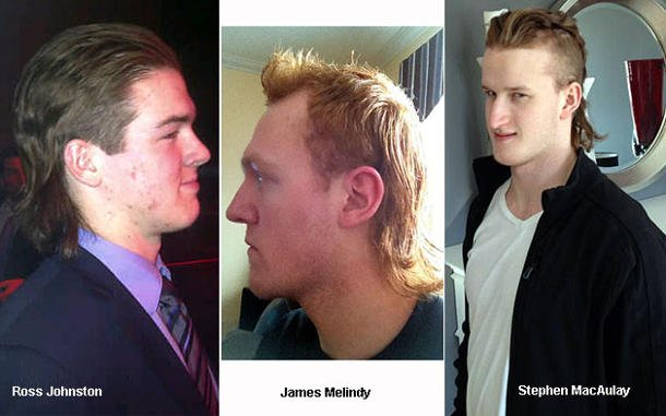 A Trio of QMJHL Mullets