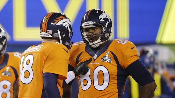 Julius Thomas and Peyton Manning