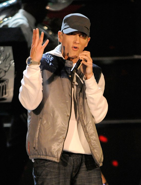 MTV Movie Awards Show Photos 2009 Eminem