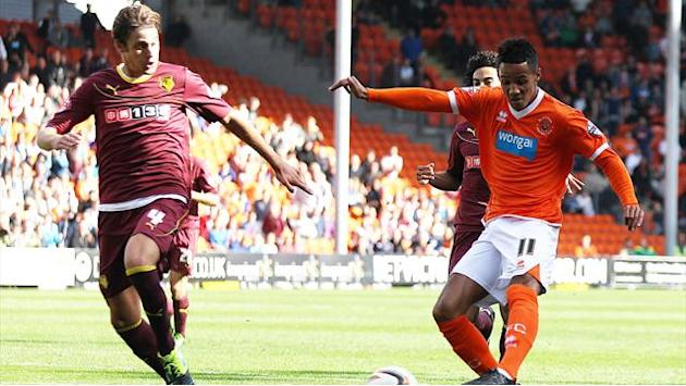 Championship - Ince fires Blackpool top of table
