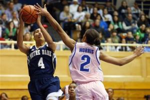 No. 2 Notre Dame women beat Seton Hall 69-49
