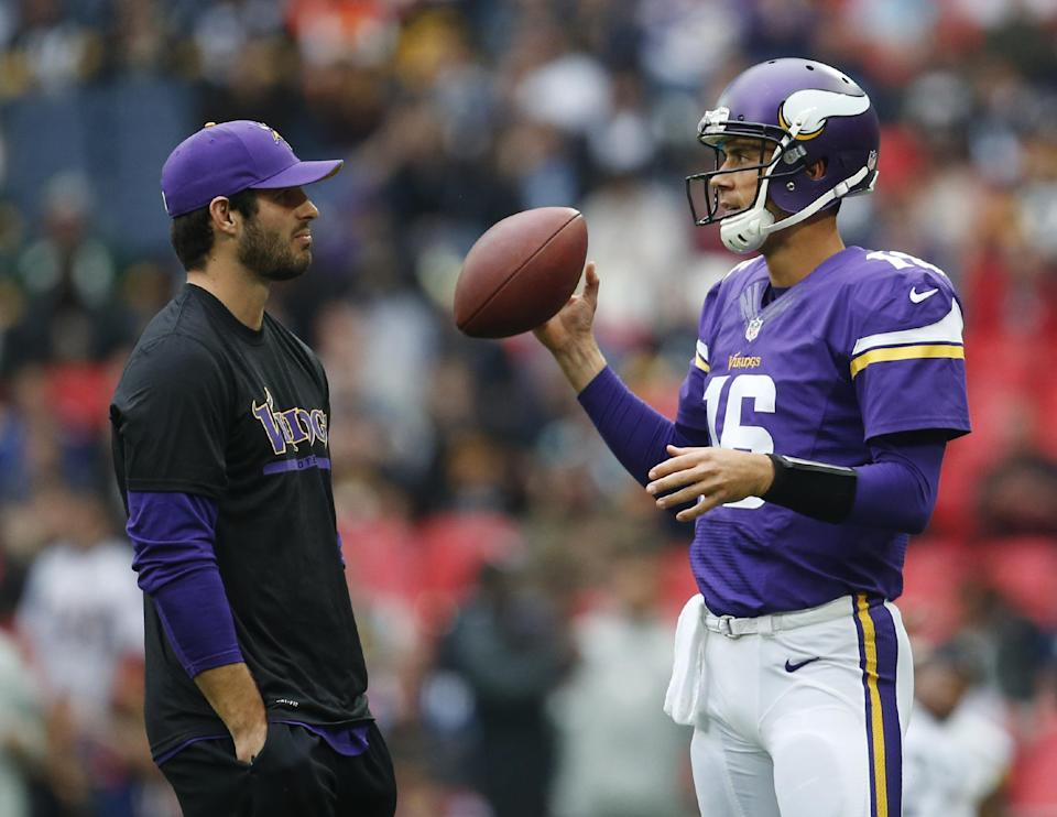 Frazier vague on Vikings quarterback situation