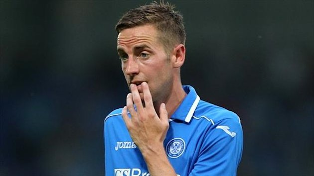 Steven MacLean suffered the knee injury during St Johnstone's match at St Mirren on Saturday