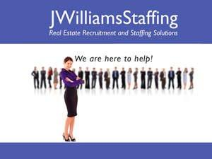 JWilliams Staffing Now Offering Franchise Opportunities for Its Real Estate Industry Recruitment and Staffing Solutions