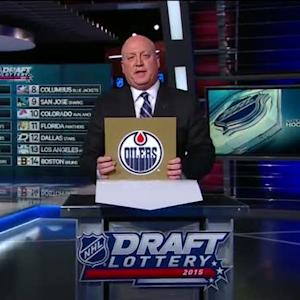Oilers earn the first overall selection