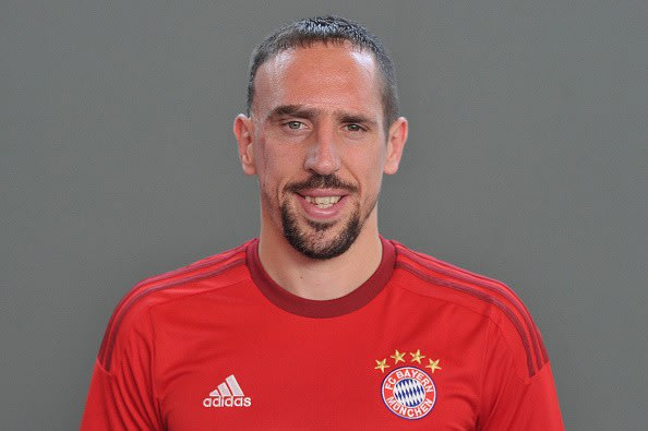 Franck Ribery has had a successful club career with Bayern Munich