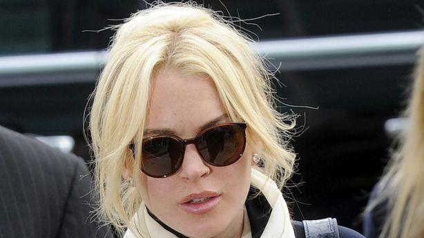 Lindsay Lohan Arrested for Hitting a Pedestrian in New York