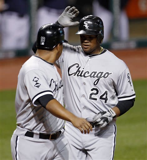 Donald's hit in 12th lifts Indians over White Sox